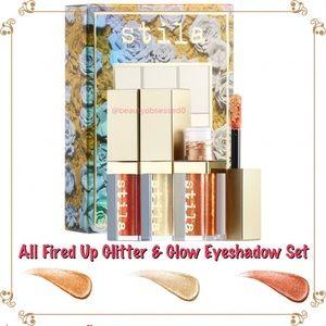 🆕🔥 STILA All Fired Up Glitter & Glow Set